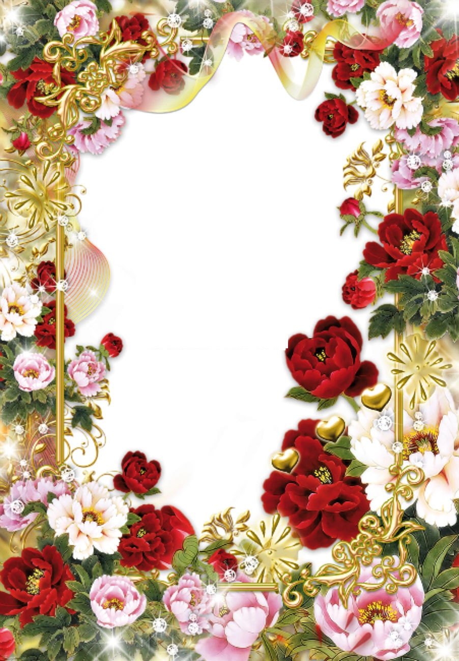 Вставка фото в цветок